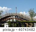 潮来アヤメ園の太鼓橋 40743482