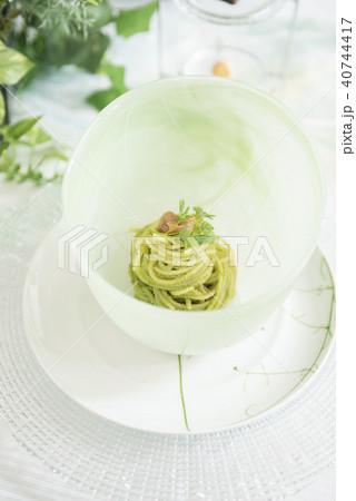 ジェノベーゼのスパゲティ 40744417
