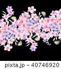 透明水彩 水彩画 ウォーターカラーのイラスト 40746920