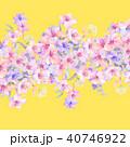 透明水彩 水彩画 ウォーターカラーのイラスト 40746922