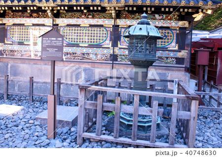 日光東照宮 附・銅燈籠(一本燈籠) 40748630