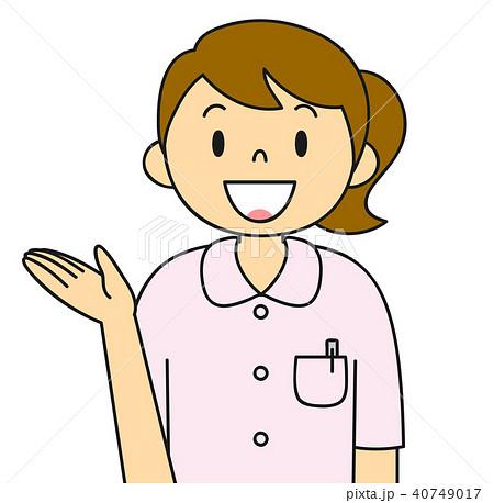 女性 白衣 看護婦 看護師 バリエーション ご案内 40749017