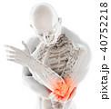 ひじ エルボ 肘のイラスト 40752218