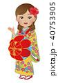 沖縄 琉球 衣装 女性 案内 40753905