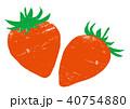 苺 果物 フルーツのイラスト 40754880