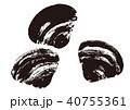 蜆 貝 貝類のイラスト 40755361