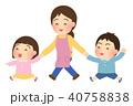 園児 保育士 笑顔のイラスト 40758838