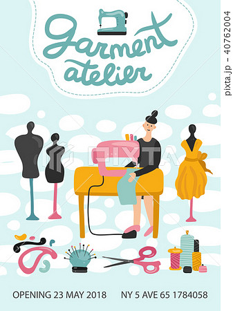 Garment Atelier Advertising Poster 40762004