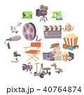 ムービー 映画 シネマのイラスト 40764874