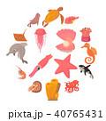 大洋 海 海原のイラスト 40765431