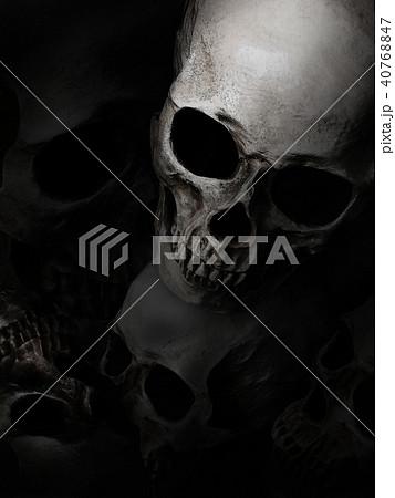 背景-骸骨 40768847