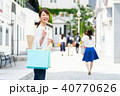 若い女性(買い物) 40770626