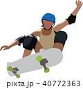 スケートボード 40772363