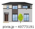 家 住宅 戸建てのイラスト 40773191
