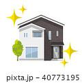 家 住宅 戸建てのイラスト 40773195