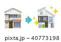 家 住宅 戸建てのイラスト 40773198
