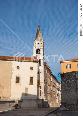 旅、クロアチア・ザダル、Croatia Zadar、聖ドナト教会周辺 40773832