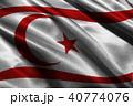 Turkey republic of northern cyprus flag 3D illustr 40774076