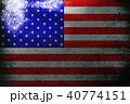 American flag ,USA national flag 3D illustration s 40774151