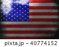 American flag ,USA national flag 3D illustration s 40774152