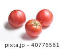 トマト 野菜 ナス科の写真 40776561