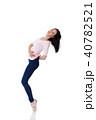 女性 メス Tシャツの写真 40782521