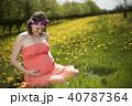 女性 メス フラワーの写真 40787364