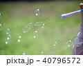シャボン玉 光 泡の写真 40796572