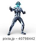 スーパーヒーロー ヒーロー 男性のイラスト 40798442