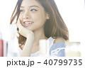 女性 メイクアップ ビューティー 40799735