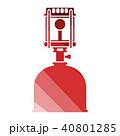 ガス 気体 アイコンのイラスト 40801285