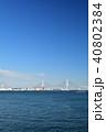横浜 青空 ベイブリッジの写真 40802384
