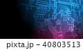 技術 デジタル テクノロジーのイラスト 40803513