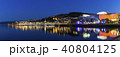 ニュージーランド ウェリントン 海沿いの夜景 40804125