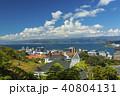 ニュージーランド ウェリントン ケーブルカー ケルバーン展望台からの風景 40804131