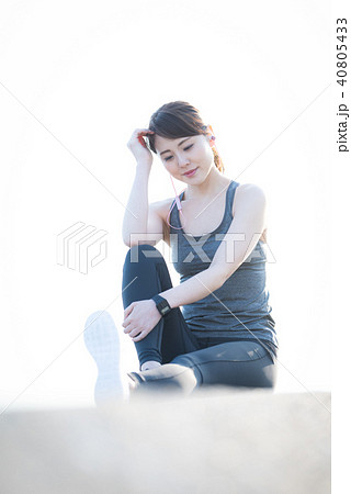スポーツ 女性 40805433
