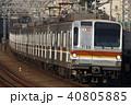 副都心線 地下鉄 乗り物の写真 40805885
