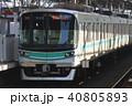 南北線 電車 東京地下鉄の写真 40805893