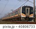 乗り物 信越本線 電車の写真 40806733