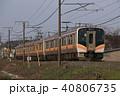 乗り物 信越本線 電車の写真 40806735