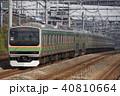 上野東京ライン 列車 電車の写真 40810664