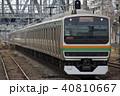 上野東京ライン 列車 電車の写真 40810667