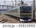 上野東京ライン 列車 電車の写真 40810668