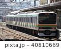 上野東京ライン 列車 電車の写真 40810669