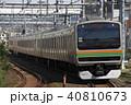 上野東京ライン 列車 電車の写真 40810673