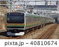 上野東京ライン 列車 電車の写真 40810674