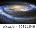 天の川銀河 40811649