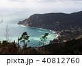 山上から見下ろすチンクエ・テッレの村 モンテロッソ・アル・マーレ(イタリア・リグーリア州) 40812760