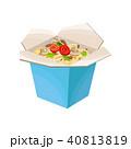 麺 麺類 段ボールのイラスト 40813819
