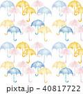 パターン 水彩 傘のイラスト 40817722
